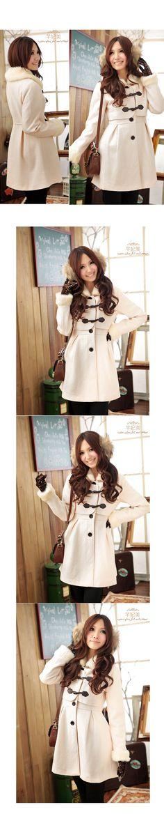 2013 Winter Fashion Collection Outwear QT11005 - Outerwear - korean japan fashion clothes dresses wholesale women