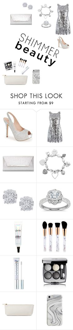 """""""Untitled #20"""" by valeriewong1234 ❤ liked on Polyvore featuring Lauren Lorraine, Dolce&Gabbana, Dorothy Perkins, ChloBo, Effy Jewelry, Zac Posen, NYX, MILK MAKEUP, Chanel and Recover"""