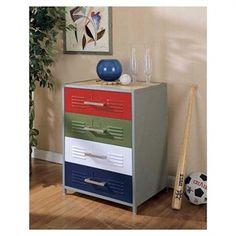 Love this idea for a boy's dresser