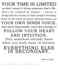 from Steve Jobs