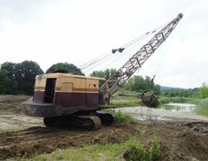Construction Images, Construction Machines, Mining Equipment, Heavy Equipment, Earth Moving Equipment, Bucyrus Erie, Hard Workers, Heavy Truck, Model Trains