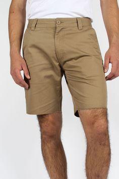 Brixton - Mens Toil Short Chino Short In Khaki $37.46