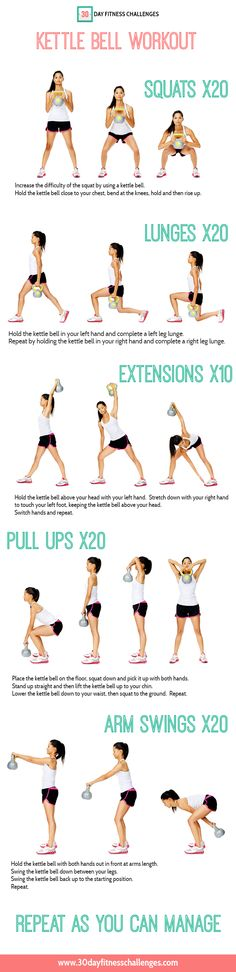 Kettle Bell Workout Challenge