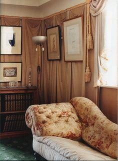 The World of Interiors, January Photo - Tim Beddow Kids Bedroom, Bedroom Decor, Wall Decor, Tent Room, Ivy House, World Of Interiors, Home And Deco, Daybed, Home Decor Styles