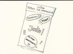 M.Garanin Illustration: Tattoos für Grundschüler