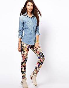 they only have xl :(   Only Floral Legging