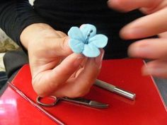 Domestic Sugar: Because Domestic Life is SWEET!: Tutorial: Sugar Cherry Blossoms