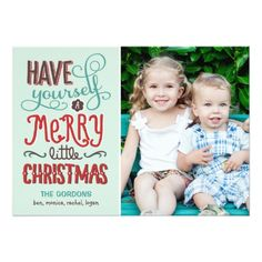 Shop Adorable Type Christmas Photo Card created by berryberrysweet. Personalize it with photos & text or purchase as is! Christmas Photo Cards, Christmas Photos, Holiday Cards, Holiday Gifts, Merry Christmas And Happy New Year, Little Christmas, Happy Holidays, Christmas Holiday, Modern Christmas