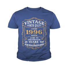 Limited Edition 1996 21 years of awesomeness T-Shirt #gift #ideas #Popular #Everything #Videos #Shop #Animals #pets #Architecture #Art #Cars #motorcycles #Celebrities #DIY #crafts #Design #Education #Entertainment #Food #drink #Gardening #Geek #Hair #beauty #Health #fitness #History #Holidays #events #Home decor #Humor #Illustrations #posters #Kids #parenting #Men #Outdoors #Photography #Products #Quotes #Science #nature #Sports #Tattoos #Technology #Travel #Weddings #Women