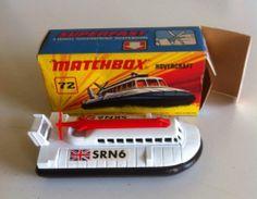 MATCHBOX Lesney Superfast 1970's No.72 HOVERCRAFT - MIB - http://www.matchbox-lesney.com/40640