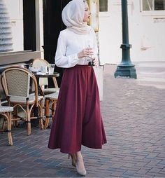 47 Super Ideas For Fashion Modest Hijab Islamic Fashion, Muslim Fashion, Modest Fashion, Hijab Fashion, Fashion Outfits, Fashion Fashion, Modest Wear, Modest Dresses, Modest Outfits