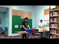 These videos mostly focus on different activities going on in the media center at Stewart Middle Magnet School in Tampa, FL.