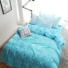 Looking for great Uozzi Bedding Duvet Cover Set with Zipper Closure Reversible 3 Piece Duvet Cover + 2 Pillow Shams) Ultra Soft Hypoallergenic Microfiber (King, Blue-Trees) by cheap price? Blue Bedding Sets, Kids Bedding Sets, Teen Bedding, Bed Duvet Covers, Duvet Cover Sets, Pillow Shams, Bed Spreads, Luxury Bedding, Dorm Room