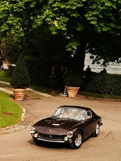 1963 Ferrari 250 GT Lusso, owned by Steve McQueen, auctioned at Christie's in 2007 for 2.3 million dollars.