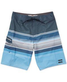 Billabong Men s All Day Platinum X Stripe Boardshorts Calções Masculinos De  Natação 8ffed0b008a