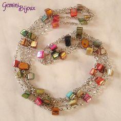 pandahall.com  Such a happy little bracelet!