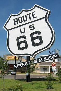 The National Route 66 Museum, Elk City, Oklahoma Old Route 66, Route 66 Road Trip, Historic Route 66, Route 66 Sign, Travel Route, Travel Usa, Memorial Day, Roadside Attractions, Road Trippin
