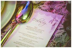Vintage wedding decor with some lace - Vintage esküvő dekor egy kevés csipkével Graphics/Grafika: Wedding Design Decor/Dekor: Wedding Factory Photo/Fotó: Kondella Misi Wedding Menu, Wedding Designs, Wedding Decorations, Van, Rose, Tableware, Cards, Photography, Vintage