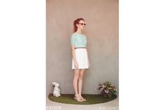 Mint summer dress by Hoiden White Dress, Mint, Bridesmaid, Summer Dresses, My Style, Pastels, Pretty, Stuff To Buy, Design