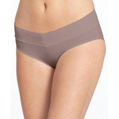 Blissful Benefits by Warner's No Muffin Top Hipster Panties, Size: Medium, Brown