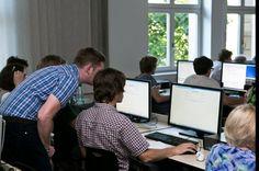 Lange Nacht der Wissenschaften 2016 - Workshops mit unserem Kollegen Marko Winkler an der HfTL Leipzig.
