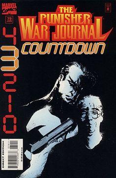 Punisher War Journal # 79 by Jae Lee