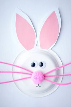 20+ Hopping Fun Easter Crafts for Kids & Paper Plate Easter Bunny Craft | Pinterest | Easter bunny Easter ...