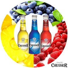 #Cruiser #크루저 #Cocktail #raspberry #blueberry #pineapple #wine cruiser #wine #alcohol #sparkling #color #party