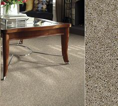 Shaw carpet in our Clear Touch Polyester made from recycled soda bottles. Style Watercolors Texture in color Sand Dune. Dark Carpet, Green Carpet, Beige Carpet, Patterned Carpet, Carpet Colors, Carpet Tiles, Carpet Flooring, Paint Carpet, Floor Restoration