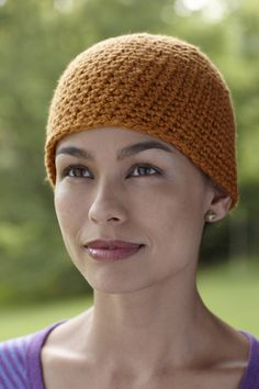 Spice Solace Cap - A great chemo cap.