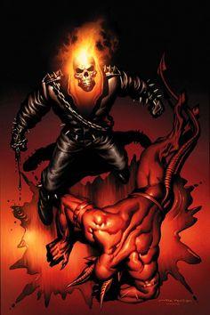 Ghost Rider & Dare Devil