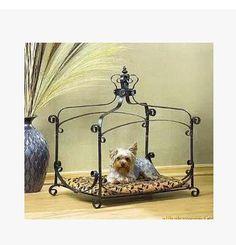 Ferro forjado Pet camas Pet cama do cão do canil suprimentos gato de estimação ninho ponto 354984 em de no AliExpress.com | Alibaba Group
