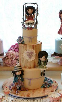 torta con personaggi
