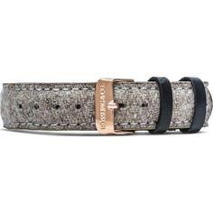 Rossling & Co. Aberdeen 18mm Watch Strap | Beige Tweed