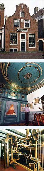 Eise Eisinga Planetarium, Franeker, Friesland, The Netherlands.