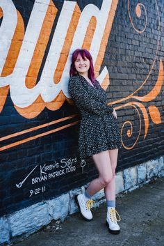 Looking for more colorful senior portraits that match your fun personality? Click to see this blog post filled with unique ideas for locations, outfits, and more!  #murals #seniorportraits #louisville View Image, Senior Portraits, Murals, Personality, Colorful, Unique, Summer, Blog, Fun