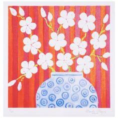 Lámina Orange Blossom de Mariska Meijers, 45x45cm
