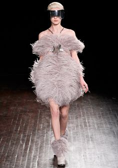 Alexander McQueen Fall 2012 RTW... I'm trying to NOT pin everything from this show. But just a few...