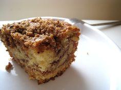 Sour Cream Coffee Cake Heaven Recipe with all-purpose flour, dark brown sugar, salt, pecans, unsalted butter, sugar, unsweetened cocoa powder, cinnamon, all-purpose flour, baking powder, baking soda, salt, unsalted butter, sugar, large eggs, sour cream, pure vanilla extract
