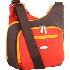 Baggallini colorblock criss cross - great sporty choice for travel, and under $ 70.