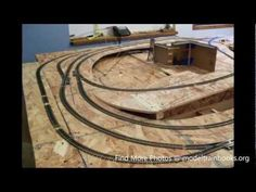 How To Build a Model Train Layout Video