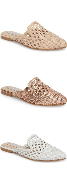 Kristin Cavallari Camille Woven Mule from Nordstrom - $99 | Spring Trends | Women's fashion | Affiliate | Spring Fashion | Sophisticated women's fashion | Fashion over 40 | Fashion over 50 | Clothes for women over 50 | Clothes for women over 60 |