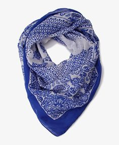 This is a bohemian scarf, and I know it is the same shape as the other one, but I still like it a lot. I almost want to get both.   Forever 21