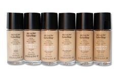 Revlon Colorstay (works for oily & dry skin) - This foundation comes in two formulas which is why I love this so much. this foundation comes in a dry&normal formula and oily&combo skin formula. This is a full coverage foundation, many people relate this to MAC studio fix fluid but I personally think its better than studio fix fluid. This foundation comes in a range of colors so you shouldn't have too much of a problem finding your correct shade.
