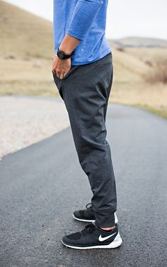 Men's sweats and Nikes