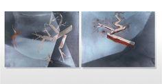 Brume automnale 003, 80 cm x 60 cm, édition limitée de Jack Slaughter