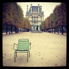 Jardins du Luxembourg's chairs - Paris