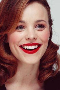 Rachel McAdams | u201cWedding Crashesu201d reddish brown hair
