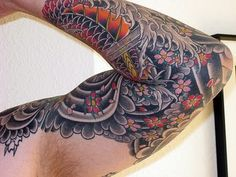 Tat Sleeve Waves and Scales