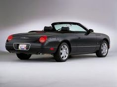 2012 ford thunderbird convertible - in british racing green preferably - I want this car in my driveway and converted to electric or bio-diesel - woo hoo!